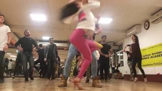 ABDA DANCERS CEM & MELİSA SALSA DERSİ Aytunç Bentürk Dans Akademi