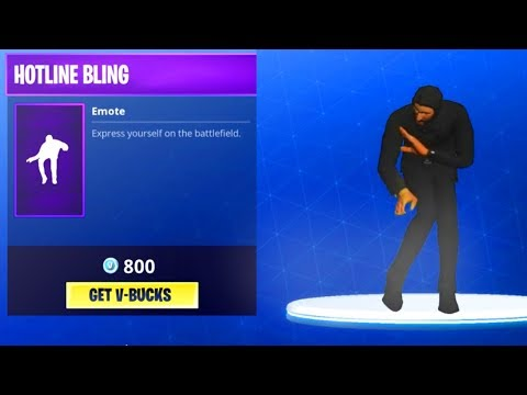 """Epic to add NEW """"HOTLINE BLING"""" Emote & DRAKE RELEASES NEW FORTNITE RAP!!? (VIDEO PROOF!!)"""
