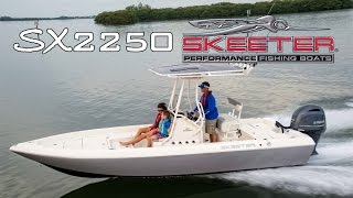 Skeeter Bay Boat SX2250 Center Console Saltwater Family Fishing Boat