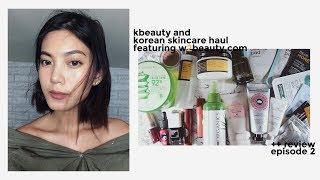 Video korean beauty & skin care haul + review ft. w2beauty download MP3, 3GP, MP4, WEBM, AVI, FLV Desember 2017