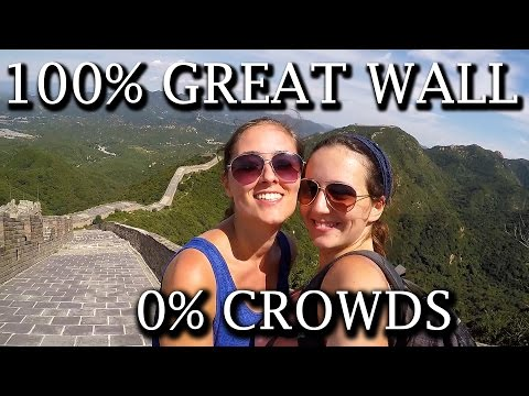 TRAVEL VLOG | THE SECRET GREAT WALL OF CHINA (AVOIDING THE CROWDS)  - DAY 103