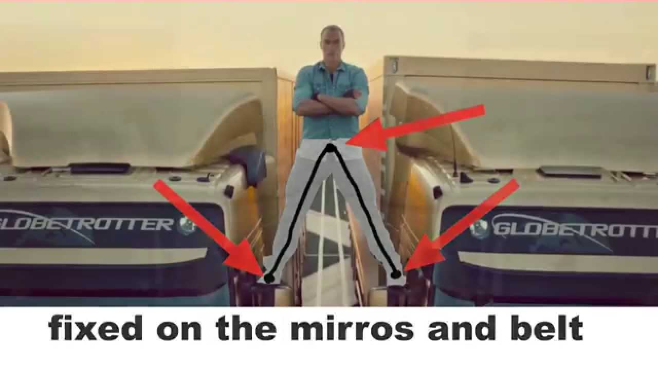 MAKING OF ( SECRET ) - EPIC SPLIT Van Damme Volvo Ad Behind the scenes - YouTube