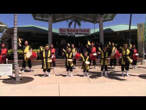 Maui Okinawan Festival 2014 - Chinagu Eisa Hawaii