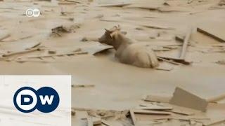 فيديو وصور  أمطار مميتة وانهيارات أرضية.. ظاهرة النينو تجتاح بيرو