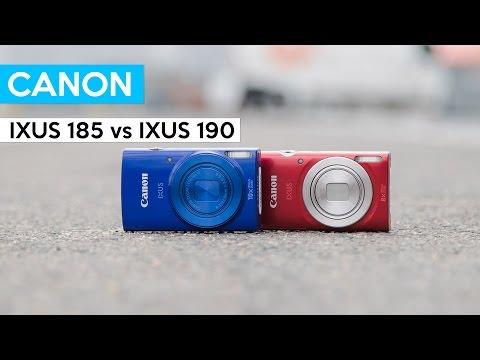 Canon PowerShot ELPH 180 vs Canon PowerShot ELPH 190 | IXUS 185 vs IXUS 190 cheap vlogging camera