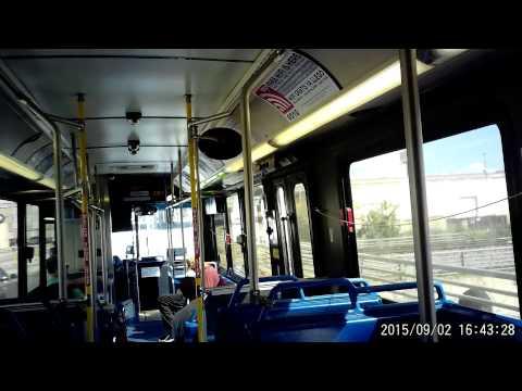 VIA bus route 5O2 in San Antonio, Texas on Wednesday September 02, 2015