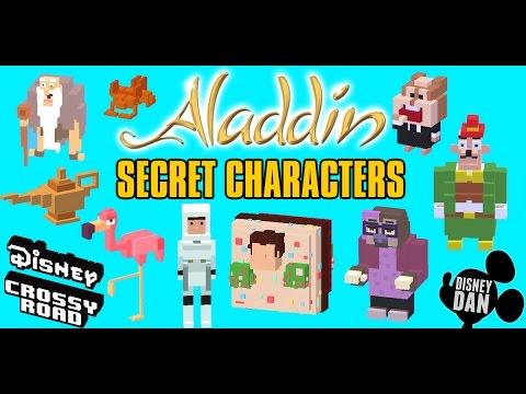 New Aladdin Secret Characters For Disney Crossy Road!