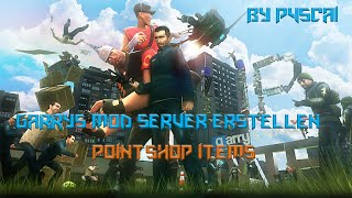Garrys Mod Server | Pointshop Items hinzufügen [German]
