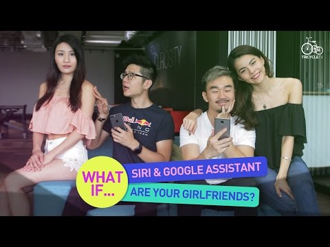 Thumbnail: What If... Siri and Google Assistant Are Your Girlfriends? | TricycleTV