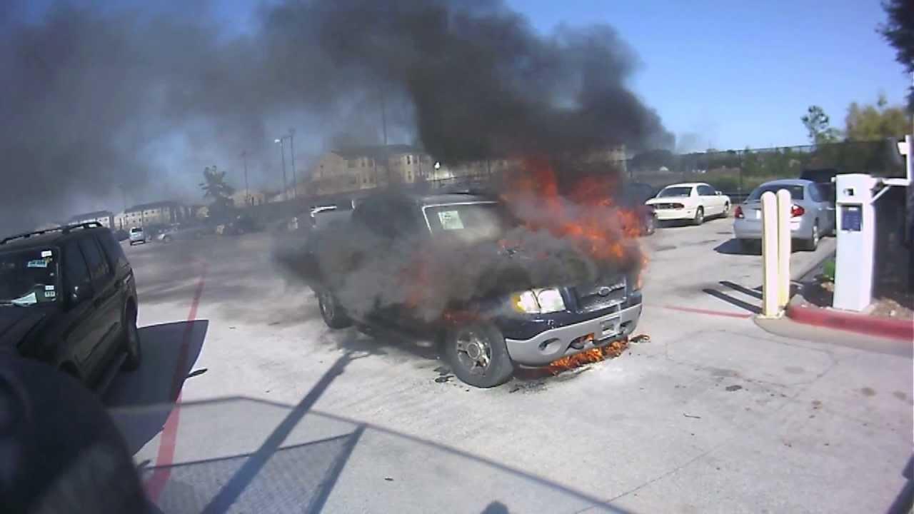 Carmax Service Department >> Truck Fire At Carmax Hd