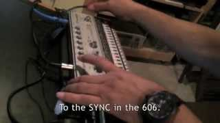 Kenny Dope testing AIRA SBX-1 and TR-808 / TR-606