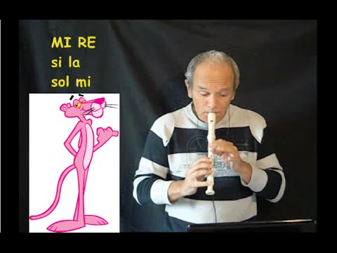 Pantera rosa celebre sigla cartone animato spartito youtube