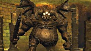 Demon's Souls - Vanguard Boss Fight (4k 60fps)