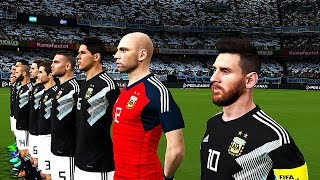 Argentina vs Iceland | Group D | FIFA World Cup Russia 16 June 2018 Gameplay