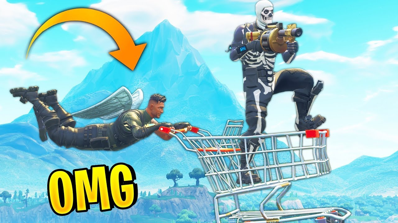 Funniest Shopping Cart Plays Fortnite Best Moments 30 Fortnite