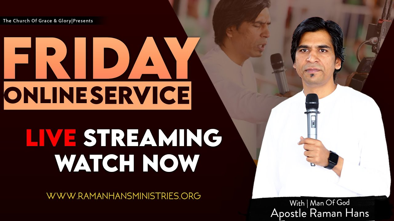 Download Friday Special  Healing Prayer    JOIN  LIVE 🔴 RAMAN HANS MINISTRIES   (15-10-2021)