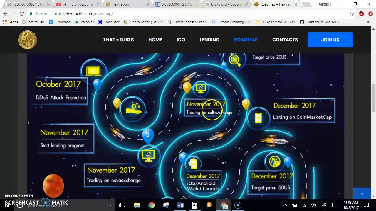 Hextra Coin Ico Don T Miss Out Like Most Did On Regal Coin Or Bitconnect Youtube