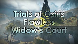 Destiny: Trials of Osiris 9-0 Flawless Victory - Widow