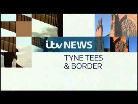 ITV News Tyne Tees & Border titles -- January 2013