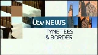 ITV News Tyne Tees & Border titles -- January 2013