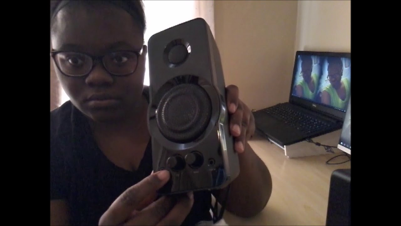 BlackWeb Computer Speaker Review - YouTube