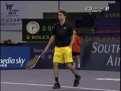 TMC 2008 RR - Simon vs Stepanek
