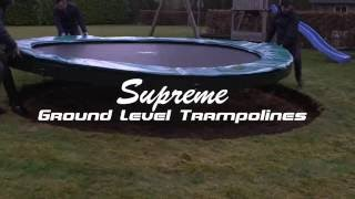EXIT Supreme Ground Level Trampoline | Trampolin-Profi.de