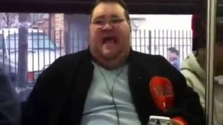 Fat guy sings (again)- like a prayer