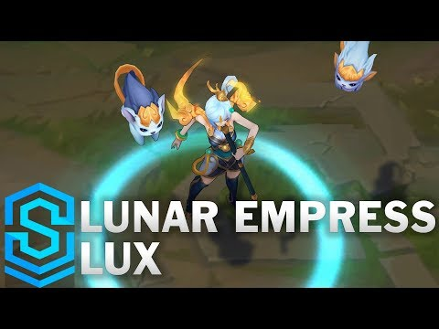 Lunar Empress Lux Skin Spotlight - Pre-Release - League of Legends