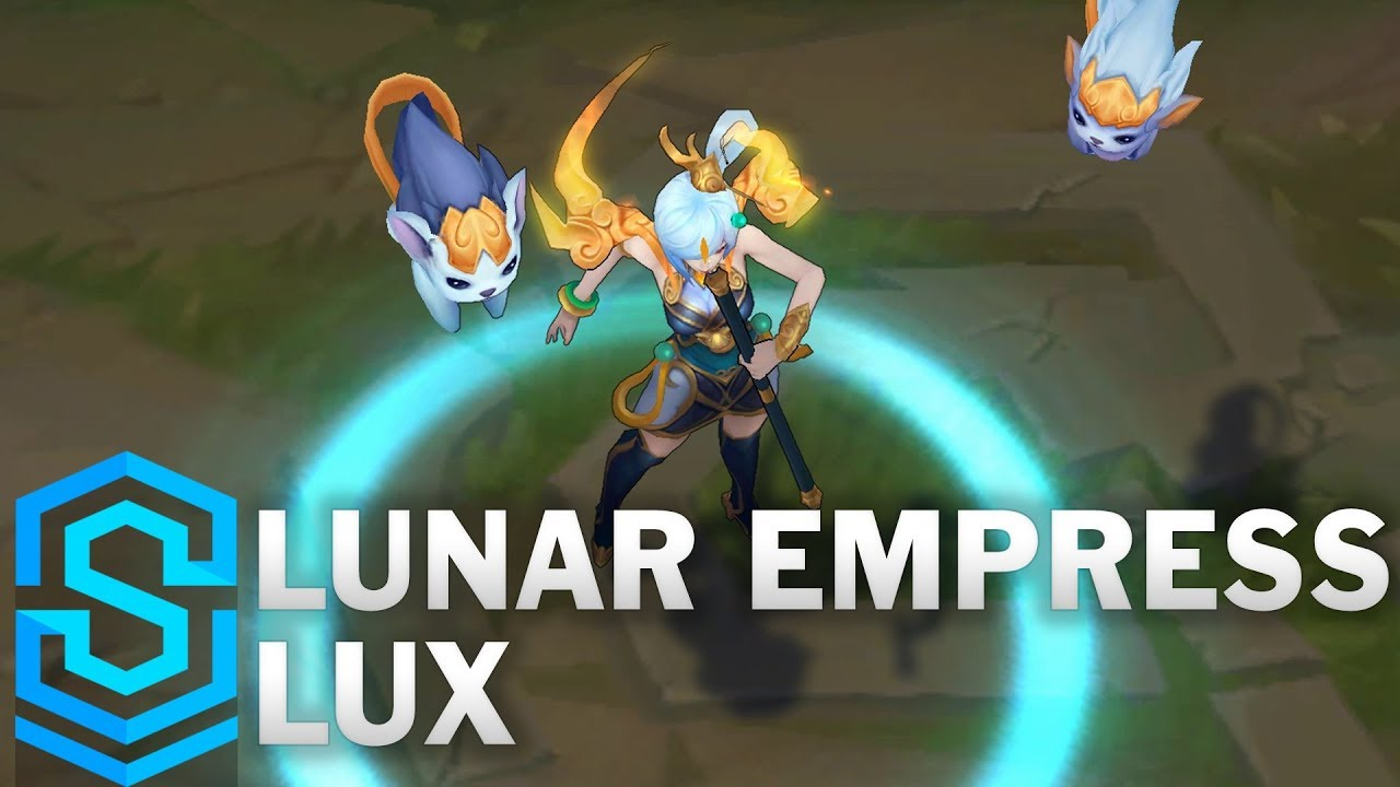 Lunar Empress Lux Skin Spotlight - Pre-Release - League of Legends