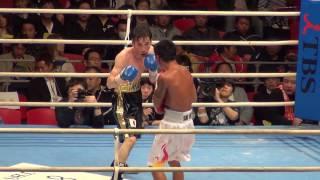 4/7 デンバー・クエロ(比)vs國重 隆(ワタナベ) 9R