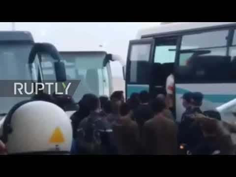 Greece: Around 600 migrants relocated from disused factories in Patra
