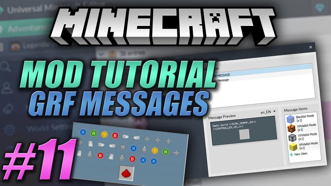 Universal Minecraft Editor - Advanced Custom GRF Messages #12