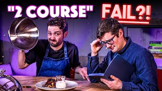 TWO COURSE MEAL Recipe Relay Challenge (Normals only!!)  Pass it On S2 E20  SORTEDfood