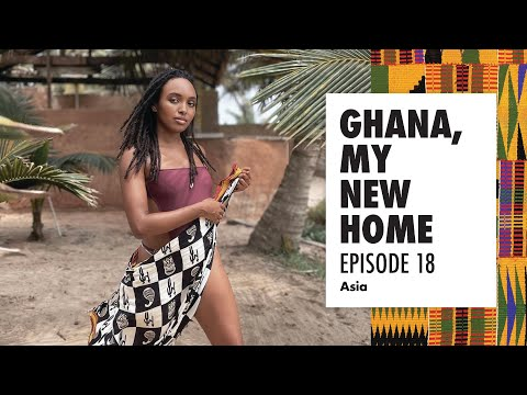 Vogue and Tommy Hilfiger worked with her in Ghana | EP 18 | GHANA MY NEW HOME 🇬🇭 | Asia