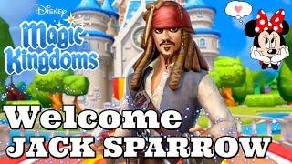 WELCOME CAPTAIN JACK SPARROW! TOWER CHALLENGE Disney Magic Kingdoms | Gameplay Walkthrough Ep.265