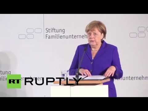 Germany: Merkel and Steinmeier talk 'Brexit' and Russia sanctions in Berlin