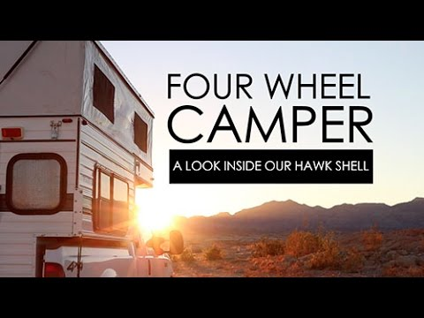 A look inside our Four Wheel Camper | Two Happy Campers