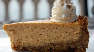 {dessert Recipe} Pumpkin Cheesecake With Gingersnap Crust By Cookingforbimbos.com