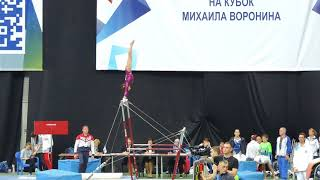 Voronin cup 2017/ Астафьева Оля/ брусья