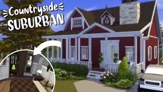 Autumnal Suburban 🍂// The Sims 4 Speed Build | no cc