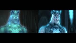 Fall of the Lich King Remastered vs Original comparison