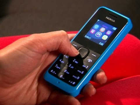 No-frills Nokia 105 makes calls for $20