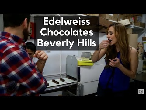 Edelweiss Chocolates Beverly Hills Youtube