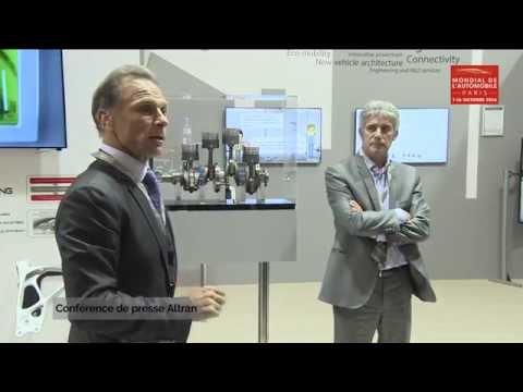 Conférence de presse Altran - Mondial de l'Automobile 2016