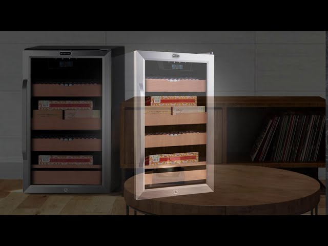 CHC-421HC Whynter 4.2 cu.ft. Cigar Cabinet Cooler and Humidor with Humidity Temperature Control