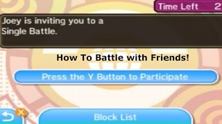 How To Battle With Friends In Pokemon Sun and Moon