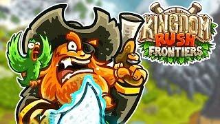 KINGDOM RUSH FRONTIER #03 = O PIRATA BLACKTHORNE (GAMEPLAY PT/BR)