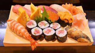 寿司職人が握るお任せ1.5人前〜How To Make Sushi〜 thumbnail