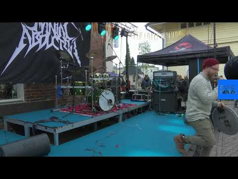 Dan & Shelby - Heavy Metal Knitting Championships